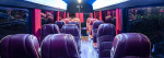 DETAILED INTERIOR 15 SEAT PARTY BUS