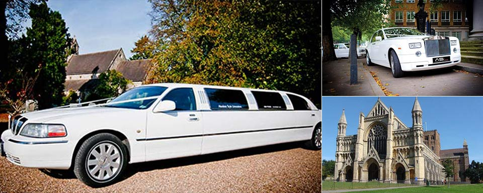 wedding car hire and limo hire st albans