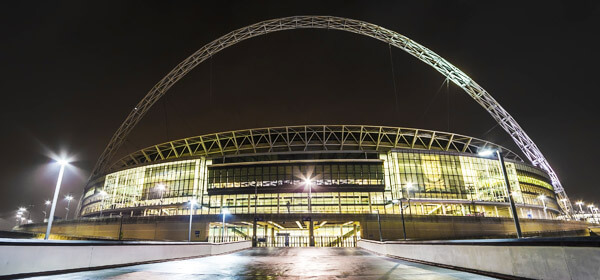 limo hire in london to wembley stadium